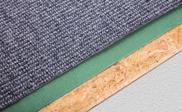 Thick Carpet Pad Example